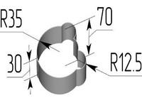 Вырубка Голова мишки. Цену уточняйте (т. +375 17 294-03-37, 210-01-48)