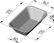 Форма для расстойки (литая алюминиевая, 255 х 162 х 66 мм). Цену уточняйте (т. +375 17 294-03-37, 210-01-48)