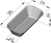 Форма для расстойки (литая алюминиевая, 285 х 134 х 64 мм). Цену уточняйте (т. +375 17 294-03-37, 210-01-48)