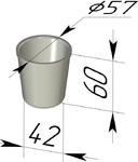Форма хлебопекарная круглая (литая алюминиевая, 57 х 42 х 60 мм). Цену уточняйте (т. +375 17 294-03-37, 210-01-48)