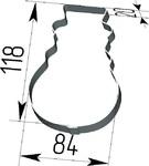 Вырубка Снеговик. Цену уточняйте (т. +375 17 294-03-37, 294-01-42)