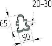 Вырубка Пряничный человечек. Цену уточняйте (т. +375 17 294-03-37, 210-01-48)