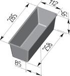 Форма хлебопекарная тостерная (литая алюминиевая, 285 х 112 х 85 мм). Цену уточняйте (т. +375 17 294-03-37, 210-01-48)