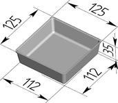 Форма хлебопекарная (литая алюминиевая, 125 х 125 х 35 мм). Цену уточняйте (т. +375 17 294-03-37, 210-01-48)