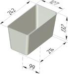 Форма хлебопекарная прямоугольная (литая алюминиевая, 242 х 127 х 132 мм). Цену уточняйте (т. +375 17 294-03-37, 294-01-42)