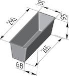 Форма хлебопекарная тостерная (литая алюминиевая, 290 х 95 х 95 мм). Цену уточняйте (т. +375 17 294-03-37, 210-01-48)