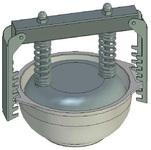 Пресс-форма круглая ПФ-145 К. Цену уточняйте (т. +375 17 294-03-37, 294-01-42)