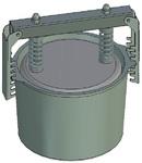 Пресс-форма круглая ПФ-185 К