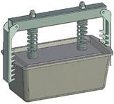 Пресс-форма прямоугольная ПФ-205 П