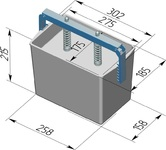 Пресс-форма прямоугольная ПФ-275 П. Цену уточняйте (т. +375 17 294-03-37, 294-01-42)