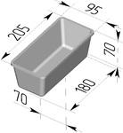 Форма хлебопекарная прямоугольная № 10-4 (литая алюминиевая, 205 х 95 х 70 мм). Цену уточняйте (т. +375 17 294-03-37, 210-01-48)