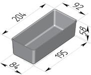Форма хлебопекарная прямоугольная № 14-1 (литая алюминиевая, 204 х 92 х 58). Цену уточняйте (т. +375 17 294-03-37, 294-01-42)