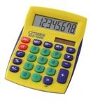 АКЦИЯ!!! Карманный калькулятор CITIZEN SDC-450NYL желтый