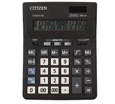 КАЛЬКУЛЯТОР НАСТОЛЬНЫЙ CITIZEN СMB1601-BK , 16 РАЗР, ЧЕРН. Аналог калькулятора Citizen SDC-664S. (Новая экономичная линейка калькуляторов CITIZEN)