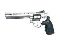 """Пистолет пневматический (револьвер)  ASG Dan Wesson 6"""" Silver пулевой револьвер ,  17611, (пневматика), (пневматический пистолет)"""