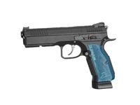 Пистолет страйкбольный ASG CZ SHADOW 2, 6мм, металлический, с блоубэком (подвижный затвор), CO2. страйкбол