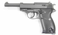 Cтрайкбольный пистолет Galaxy G.21 Walther P-38 металлический, пружинный