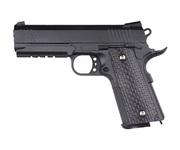 Cтрайкбольный пистолет Galaxy G.25 COLT1911PD Rail металлический, пружинный, спринг