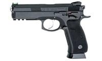 Пневматический пистолет ASG CZ SP-01 Shadow blowback 4,5 мм, 18396, пневматика, цельнометаллический