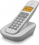 Радиотелефон DECT teXet TX-D4505A белый-серый