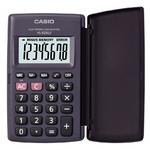 Калькулятор CASIO HL-820LV-BK-S-GP, 8-разрядный, черный