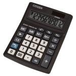 Калькулятор настольный CITIZEN CMB1201-BK, 12 разр, черн. Аналог калькулятора Citizen SDC-812BN. (Новая экономичная линейка калькуляторов CITIZEN)