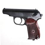 Пистолет пневматический Ижевский механический завод (Baikal) МР-654К-28 с бакелитовой (текстолитовой) ручкой,  МР-654К (пневматика (пневматический пистолет Макарова)  (МР 654 К)