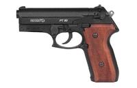 Пневматический пистолет Gamo PT-80  20TH ANNIVERSARY 4,5 мм, пневматика, в комплекте с кейсом, деревянные щечки