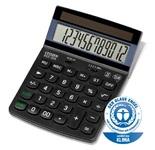 Калькулятор CITIZEN ECC-310; ECO, солнечное питание; 12-ти  разрядный