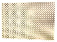 Модуль ковровый «Пила мини» (из пластиката ПВХ) коврик 0,82 х 0,58 м, высота 8,5мм (для душевых) РБ(золото, бирюза, серебро)