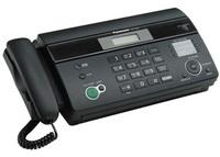 Факс на термобумаге Panasonic KX-FT982RUB (ЧЕРНЫЙ)