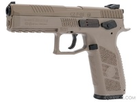 Пневматический пистолет ASG CZ P-09 DT-FDE пулевой blowback 4,5 мм, артикул 18525