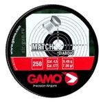 Пули свинцовые для пневматического оружия Gamo Match (250 шт) 0.49 г