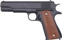 Cтрайкбольный пистолет Galaxy G.13 Colt 1911 black металлический, пружинный