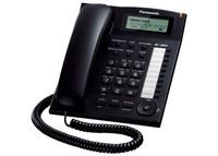 Проводной телефон Panasonic KX-TS2388RUB (черный)