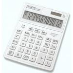 Калькулятор настольный Citizen SDC-444X белый (12-ти разрядный)