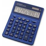 Калькулятор настольный Citizen SDC-444X темно-синий (12-ти разрядный)